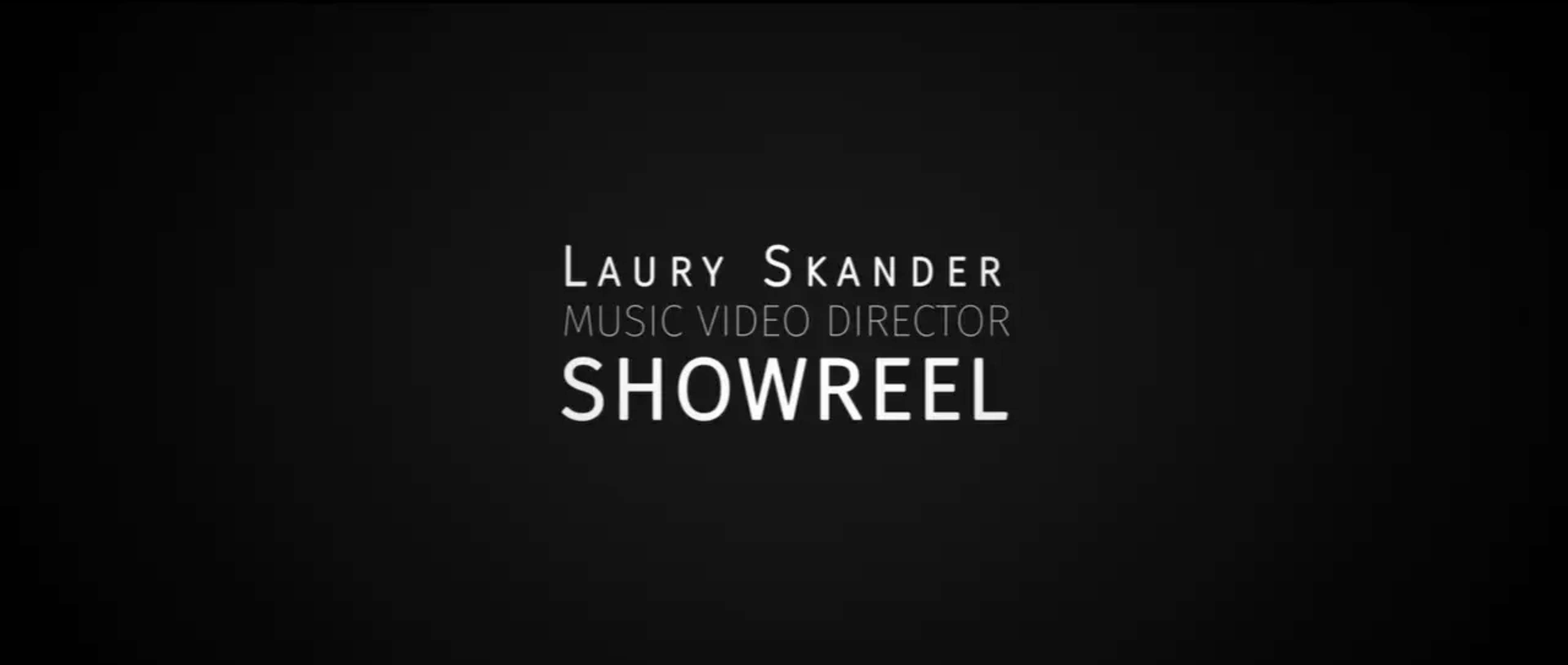 SHOWREEL MUSIC VIDEO